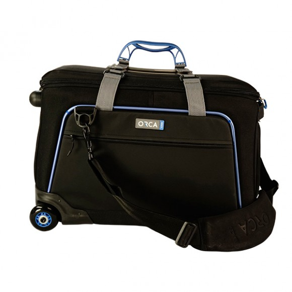 Orca OR-10 Shoulder Camera Bag - 4 with Built In Trolley